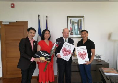 Meeting with the French Ambassador to Thailand