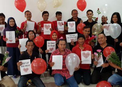 Spiritia team calling for more love, more money