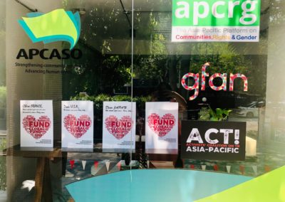 The cards at the GFAN AP & APCASO office!