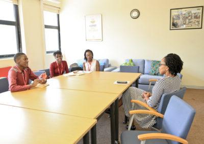 Meeting with the Health Advisor of UK/DFID
