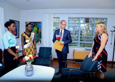 Meeting with the Swedish Ambassodor