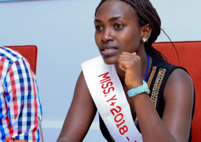 Miss Y+ 2018 at the meeting
