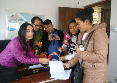 Communities and Civil Society preparing for the Action in Nepal