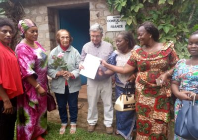 Communities & Civil Society at the French Consulate in Bukavu