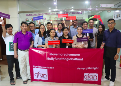 Communities and Civil Society gathered in Cambodia to discuss Global Fund Sixth Replenishment and #lovemoregivemore campaign