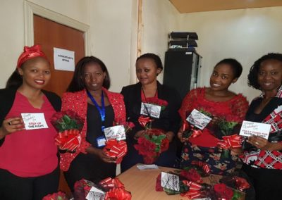 Communities and CS advocates ready for the Valentine's Day action