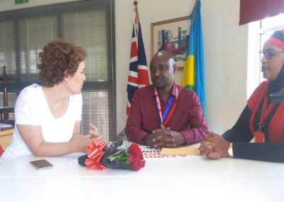 Meeting with the Ambassador of United Kingdom