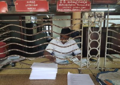 Sri Lanka Valentine's Day Action - Post Office