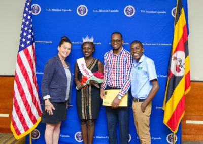 With Amy Cunning, PEPFAR Country Director
