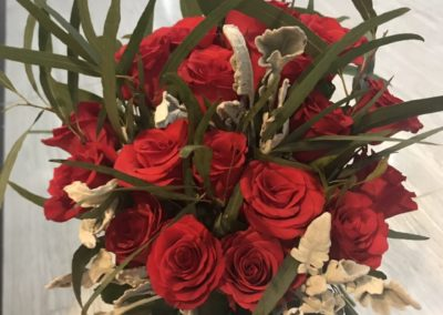 Vietnam: Bouquets of roses prepared for the Embassy Visits
