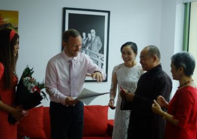 Meeting with Ambassador Gareth Ward