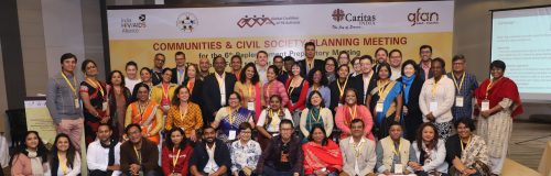 COMMUNITIES & CIVIL SOCIETY PLANNING MEETING FOR THE SIXTH REPLENISHMENT PREPARATORY MEETING OF THE GLOBAL FUND – 16TH & 17TH JANUARY 2018 NEW DELHI, INDIA