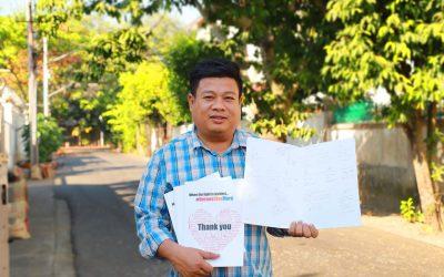 Myanmar Celebrates Global Fund Sixth Replenishment Heroes