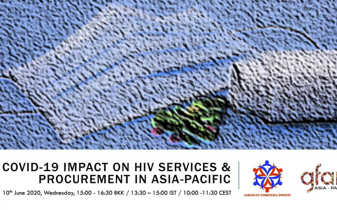 COVID-19 Impact on HIV Services & Procurement in Asia-Pacific