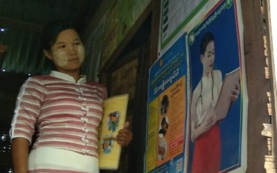 A step above volunteerism – Providing malaria services in Myanmar during COVID-19