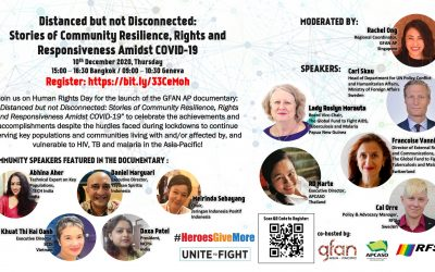 "Launched: ""Distanced but not Disconnected: Stories of Community Resilience, Rights and Responsiveness Amidst COVID-19"""