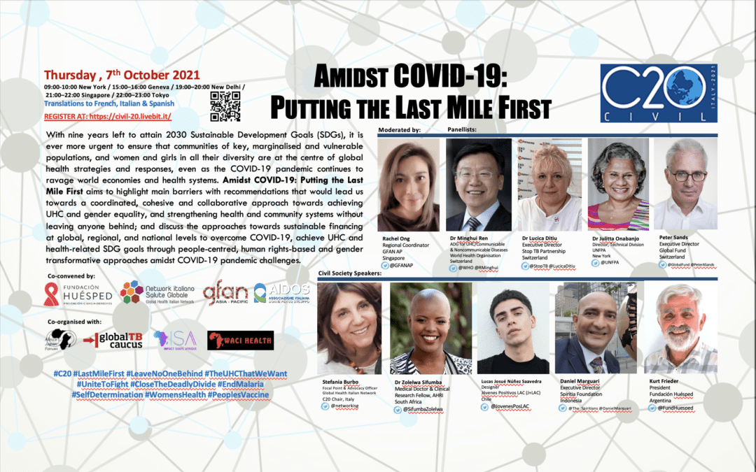 Amidst COVID-19: Putting the Last Mile First